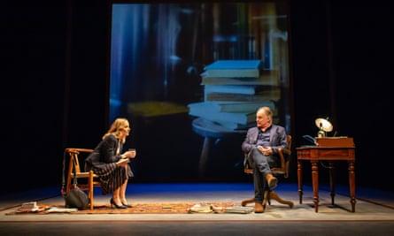 Joanne Froggatt and Robert Glenister in Alys, Always at the Bridge.