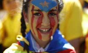 Some suggest that anxiety about the Spanish world image has been sparked by the recent Catalan independence movement.