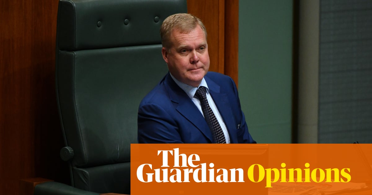 The Speaker snapped in question time on Wednesday – what took him so bloody long