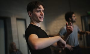Sergei Polunin in rehearsals with his own ballet company.