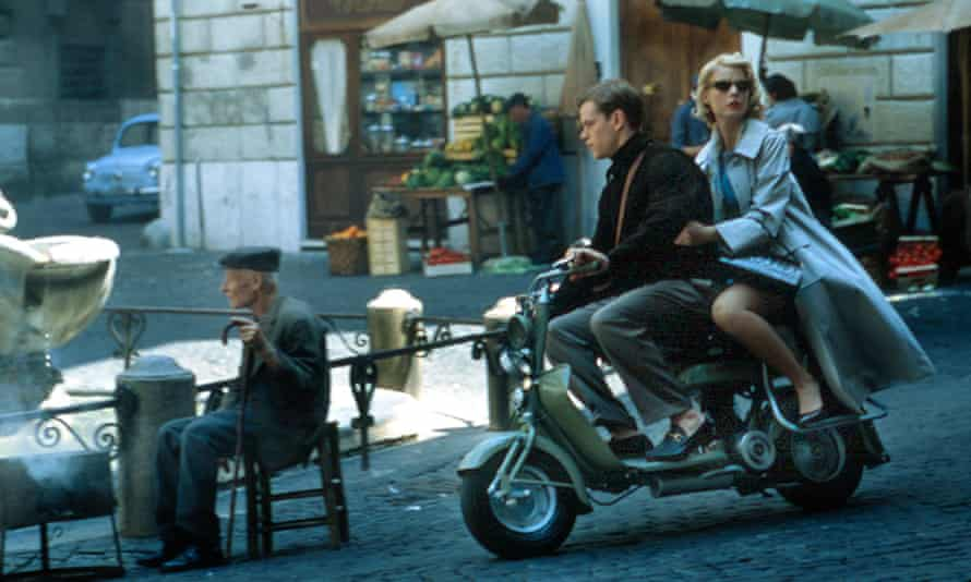 Matt Damon and Gwyneth Paltrow in Anthony Minghella's film of The Talented Mr Ripley (1999).