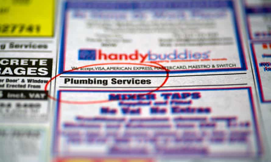 Searching online for a plumber often flag up national firms that send out subcontractors they find in local ads.