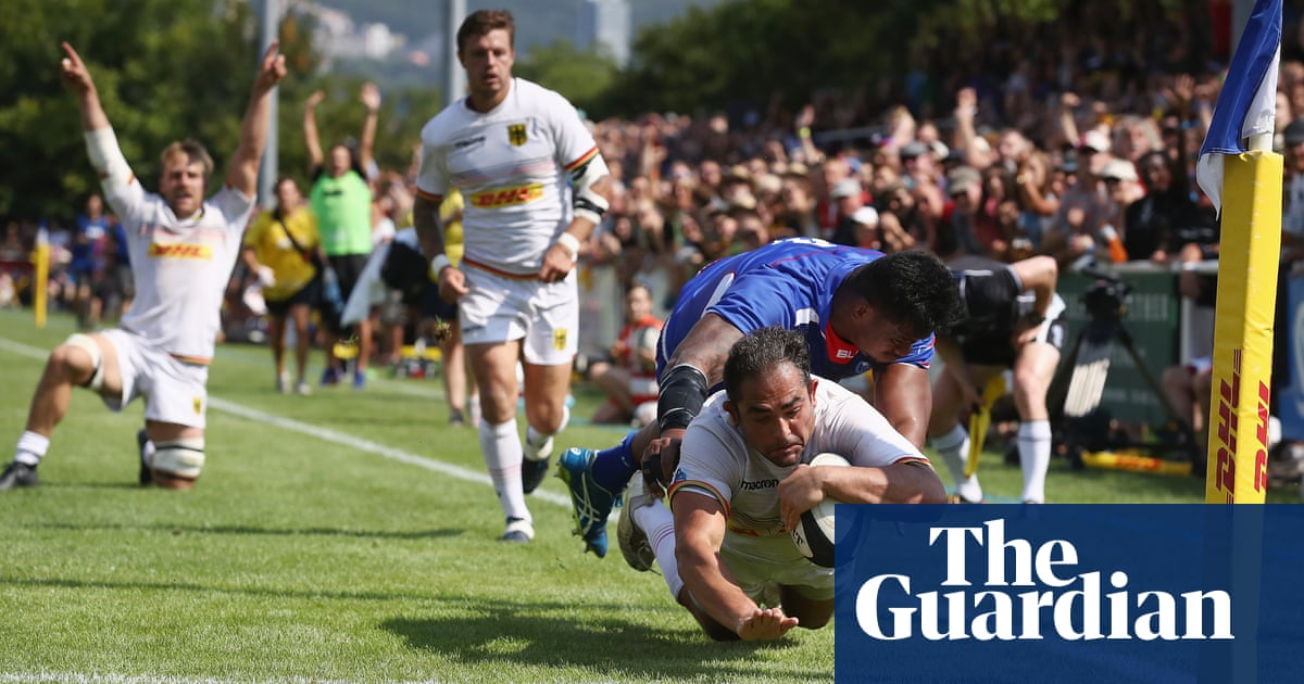 How juice drink billionaire bankrolled Germany's Rugby World Cup charge