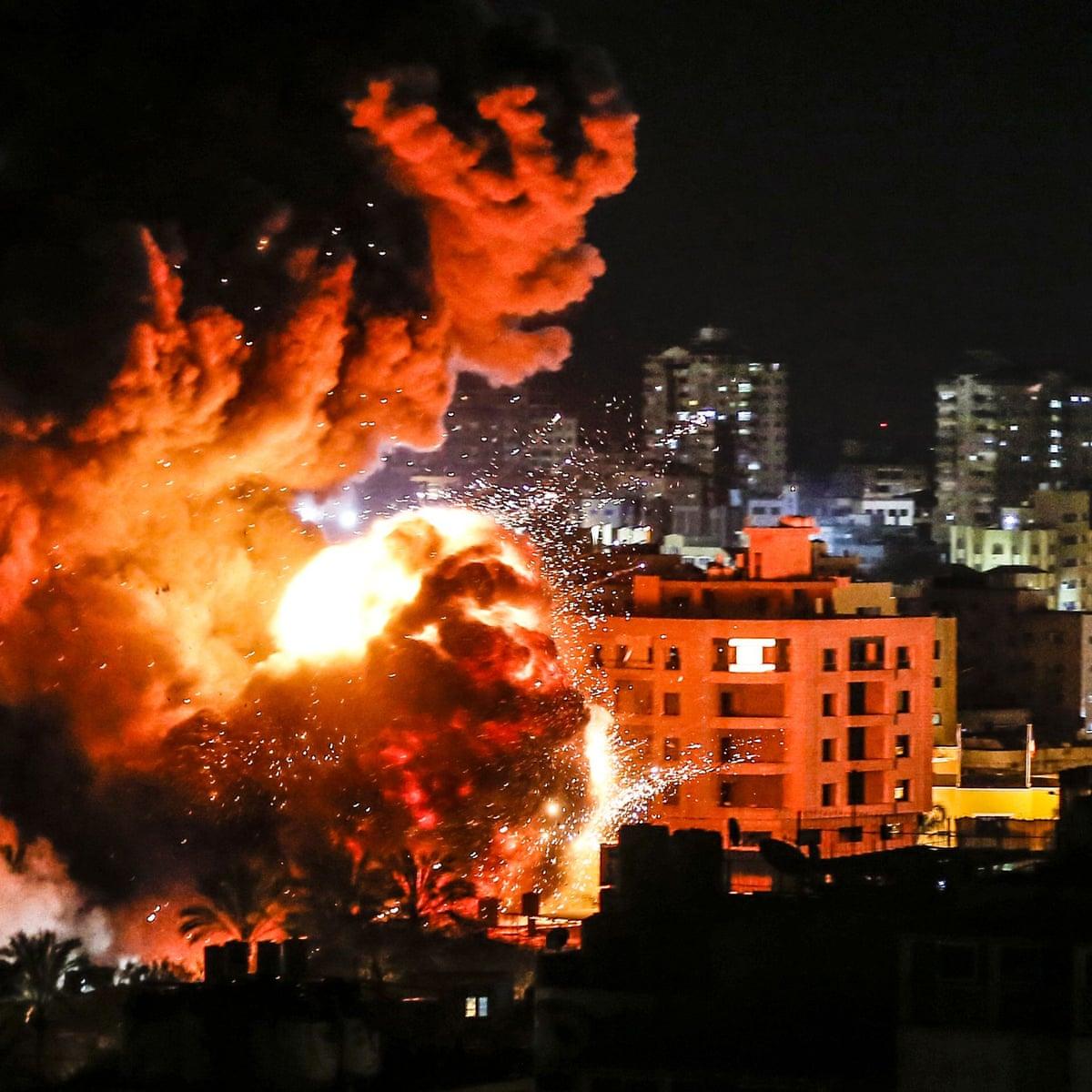 Israeli Strike Christmas 2020 Israeli military bombs Gaza after rocket strike | Gaza | The Guardian