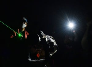 """India Agartala Astronomy - 21 Dec 2020Mandatory Credit: Photo by Xinhua/REX/Shutterstock (11656810d) People watch the """"great conjunction"""" of Jupiter and Saturn through a telescope in Udaipur, 50 km from Agartala, the capital city of India's northeastern state of Tripura, Dec. 21, 2020. India Agartala Astronomy - 21 Dec 2020"""