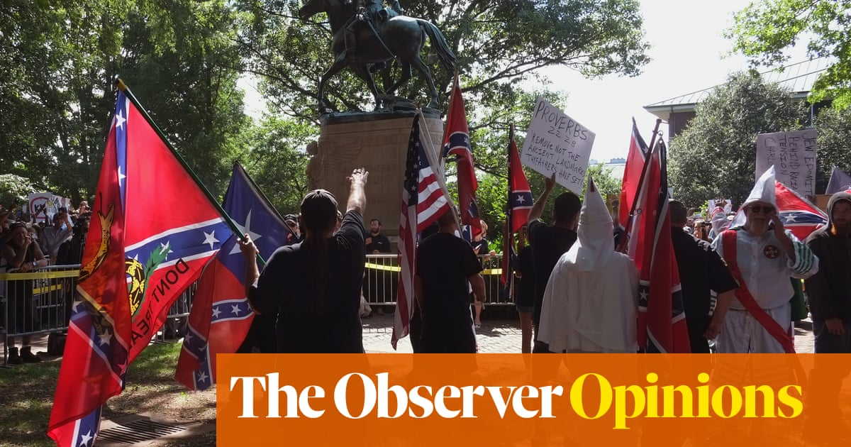 Statues are not the issue  These are 'history wars', a