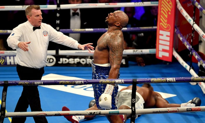 92e9244b Dillian Whyte's win leaves Anthony Joshua weighing up options | Kevin  Mitchell | Sport | The Guardian