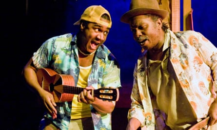 'Quite subversive really' … Marcel McCalla and Victor Romero Evans in Rum and Coca Cola at West Yorkshire Playhousein 2010.