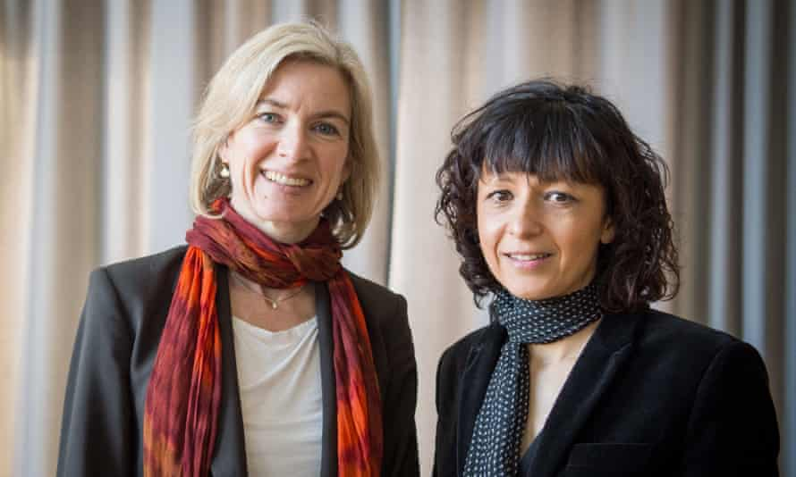 Scientists Jennifer Doudna (left) and Emmanuelle Charpentier.