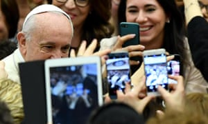 Pope Francis has called for technology's use to benefit all humanity.