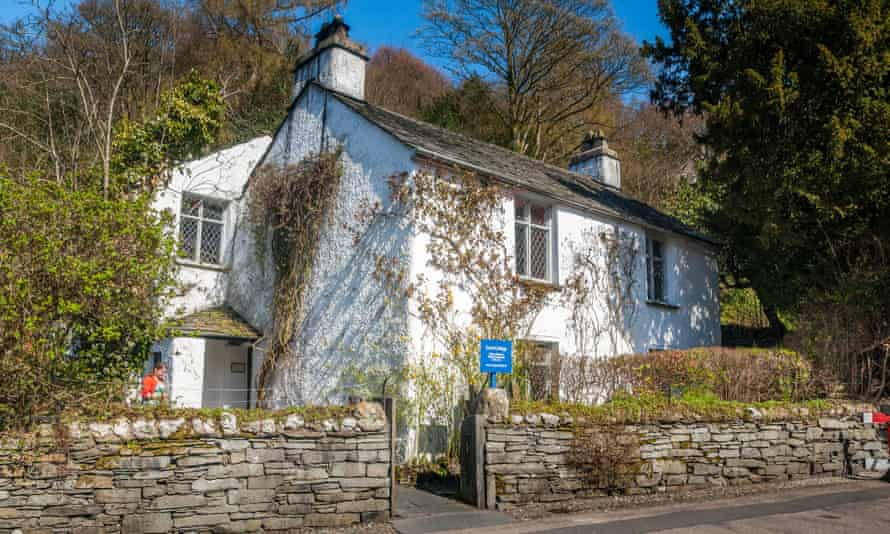 Meeting point between art and everyday existence … William Wordsworth's former home, Dove Cottage, in Grasmere, Cumbria.