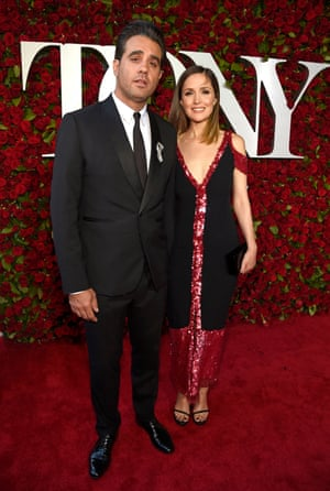 Actors Bobby Cannavale and Rose Byrne