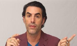 Sacha Baron Cohen … Rumbled.