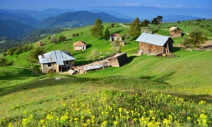 The village of Ortzevo, West Rhodope mountains.