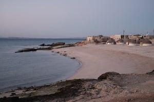 The village of Qeel on Hegam island.