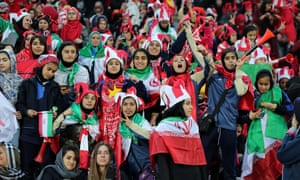 Around 500 female fans were allowed to attend the Asian Champions League final between Persepolis and Kashima Antlers in Tehran this month.