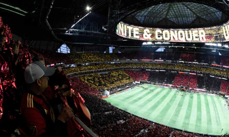 Atlanta United fans are treated to home games in one of North America's best stadiums. Now the Five Stripes are investing in Europe
