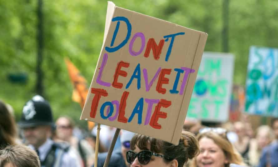 The Mother's Rise Up climate march in London this month.