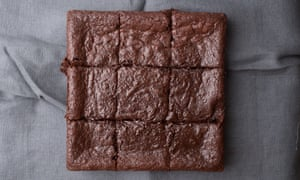 Tom Hunt's brownies made with spent espresso grounds.