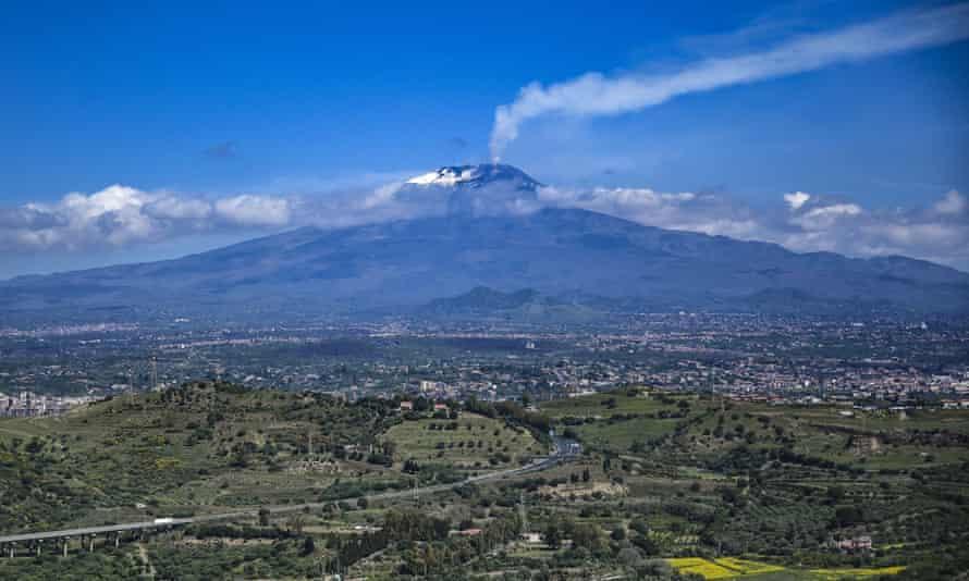 Mount Etna.