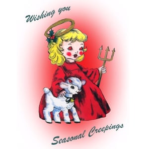 Krampus card by Laura New, £1.50