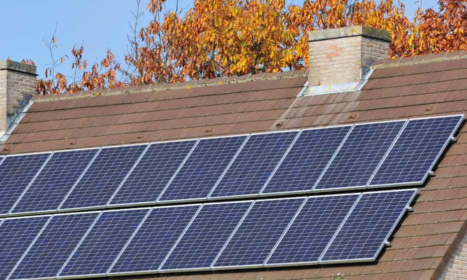 Houses will use a mix of green energy technology including solar panels, batteries and geothermal