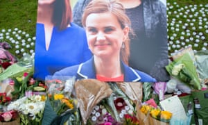 Floral tributes to Jo Cox MP in Parliament Square. Parliament will be recalled on Monday to pay tribute to her.
