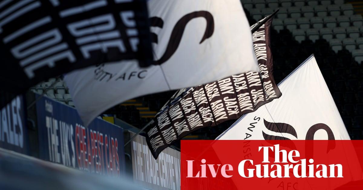 Swansea v Barnsley: Championship play-off semi-final, second leg – live!