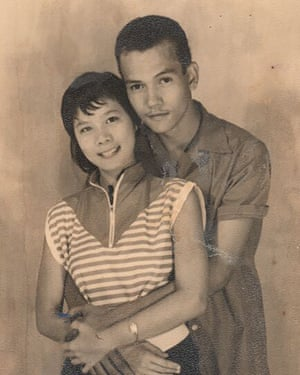 With Vincent Chin in the early 60s.