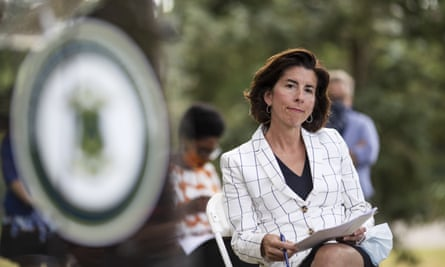 The governor Gina Raimondo said: 'The pain that this association causes to some of our residents should be of concern to all Rhode Islanders.'