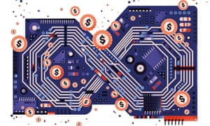 illustration for long read about silicon valley tech resistance
