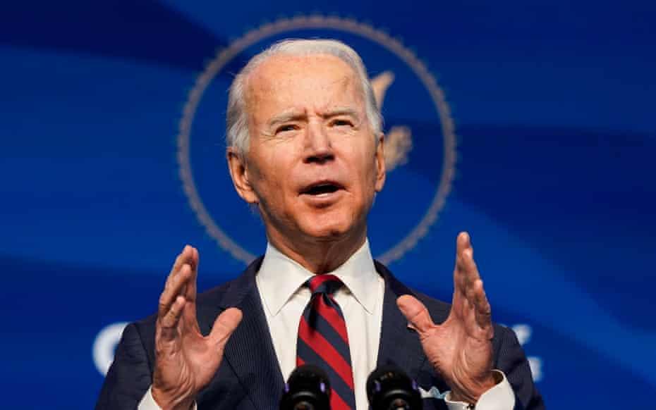 Joe Biden announces his climate team