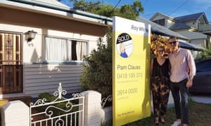 After 12 months house hunting Nastassia Tognini and Neno Baric purchased their first home.