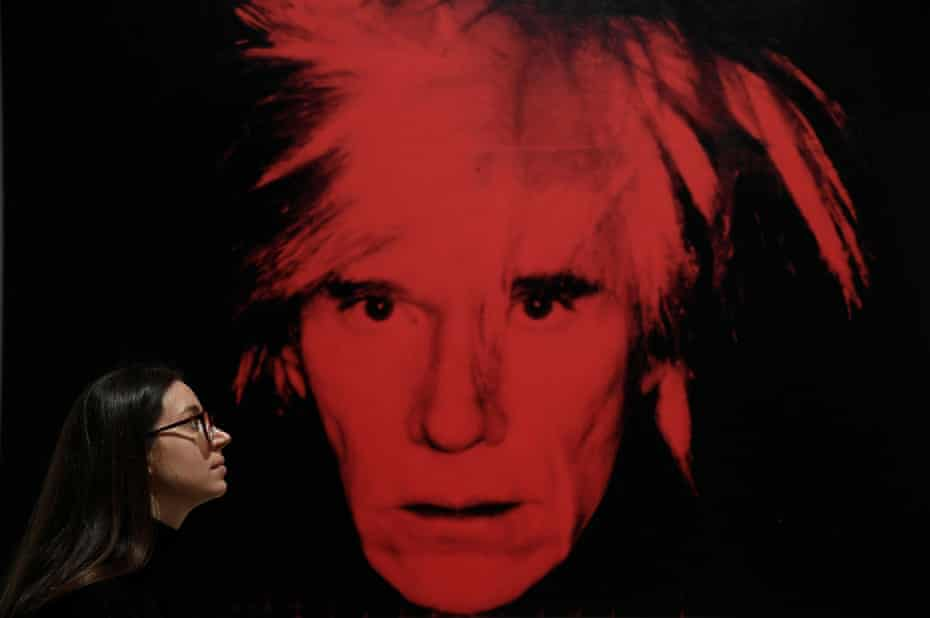 Fame-obsessed but unknowable … Self-Portrait by Andy Warhol.