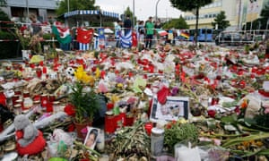 Memorial for the victims in Munich