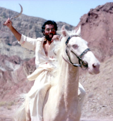 A film still from The Blood of Hussain.