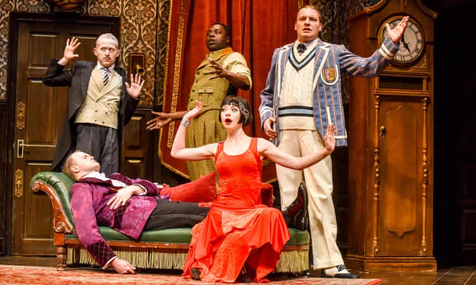 The Play That Goes Wrong, Lyceum Theatre, Sheffield.