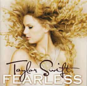 The artwork to the original release of Fearless.