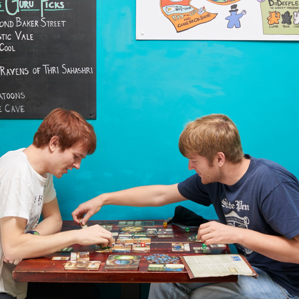 The rise and rise of tabletop gaming   Games   The Guardian