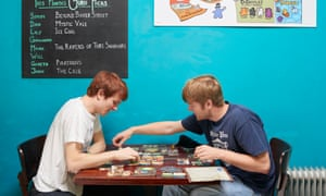Brothers Sandy and Richard Steele are regulars at Thirsty Meeples board game cafe in Oxford