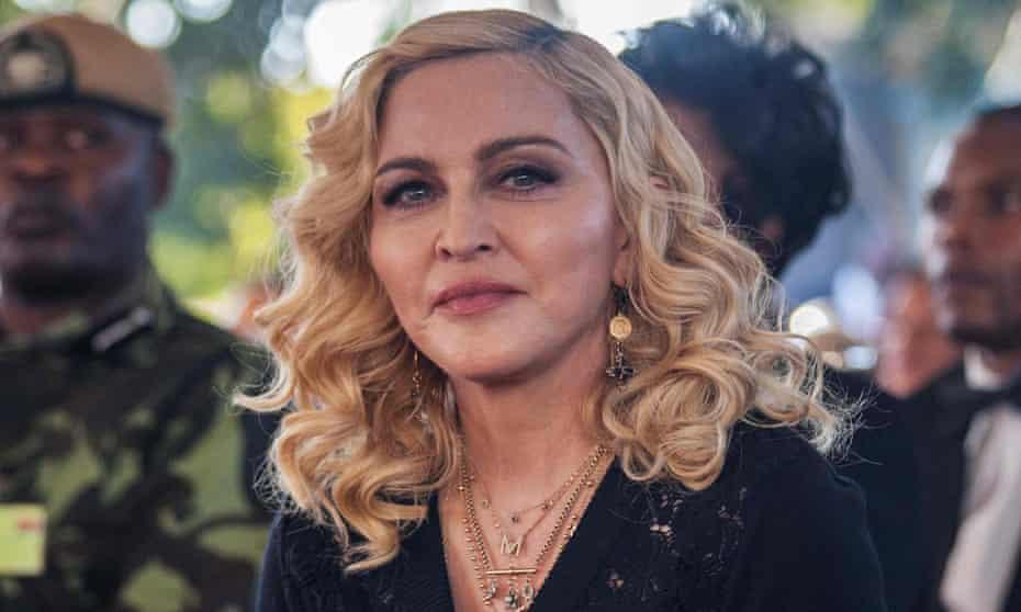 Madonna in Blantyre, Malawi, last year.