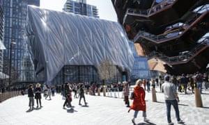 The Shed at Hudson Yards in New York City.