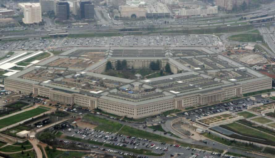 The Pentagon in Washington DC.