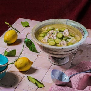 Hamud – chicken soup with lemon.