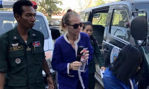 Tammy Davis-Charles's 18 months sentence for running Cambodian surrogacy clinic is upheld.
