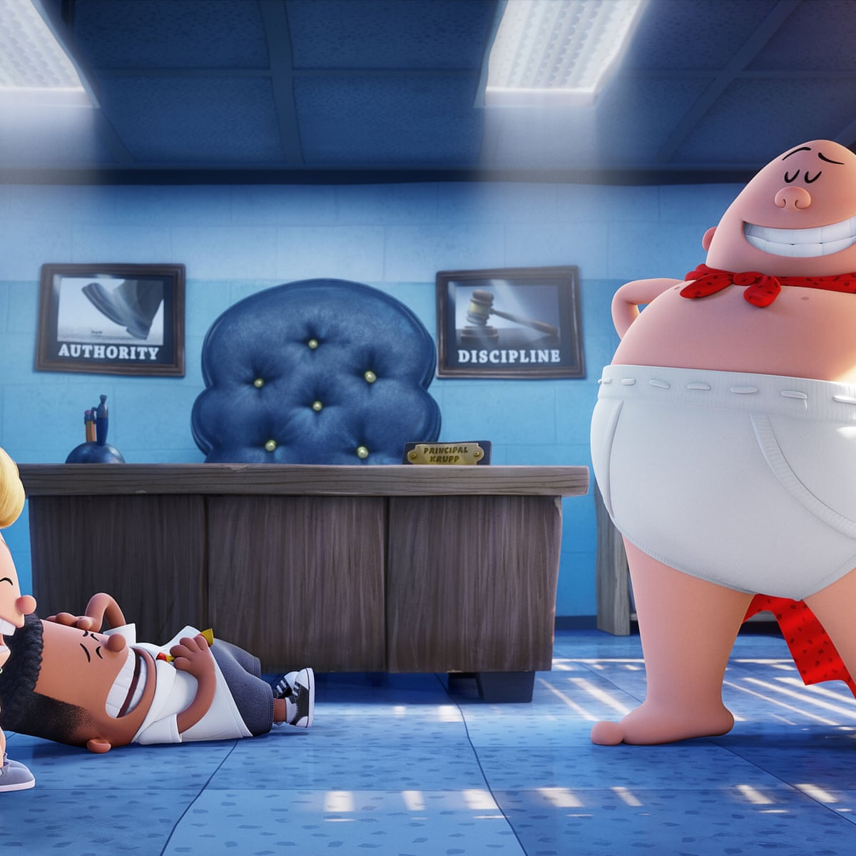 Captain Underpants The First Epic Movie Review More Than Just Flatulence Gags Film The Guardian