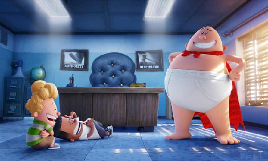 """""""Wears its silliness with pride"""": Captain Underpants: The First Epic Movie."""