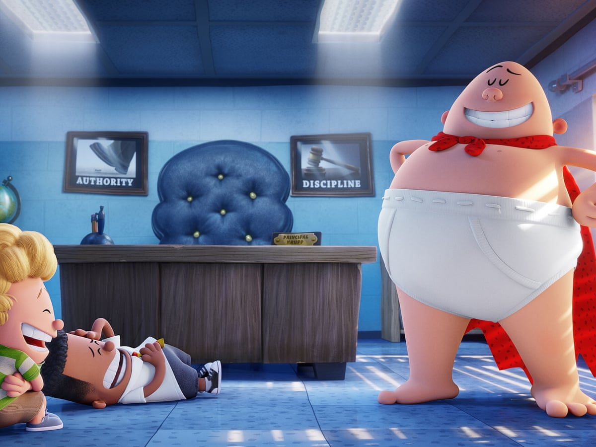 Captain Underpants The First Epic Movie Review An Unexpected Delight For All Ages Film The Guardian