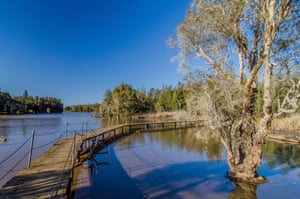 The Longneck lagoon in Scheyville national park.