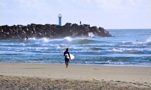 Skip the shower and go for a surf instead